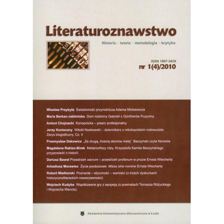 Literaturoznawstwo nr 1(4) 2010
