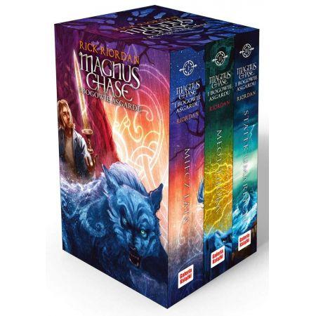 Pakiet 3 książek. Magnus Chase i bogowie Asgardu. Tomy 1-3