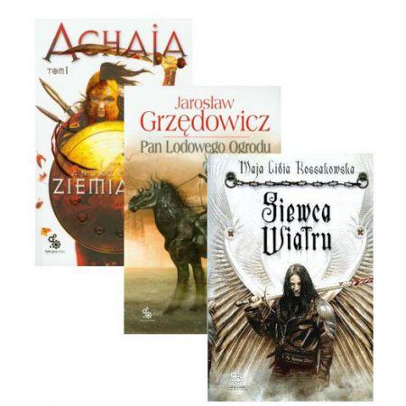Zestaw książek dla początkującego maniaka fantastyki