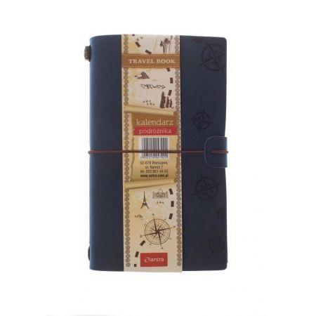Kalendarz 2021 Podróznika Granatowy