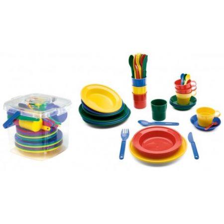 Zestaw naczyń w pojemniku Dining-Set 48 części