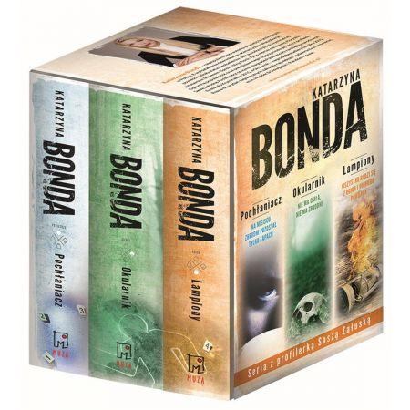 Pakiet 3 książek: Pochłaniacz, Okularnik, Lampiony
