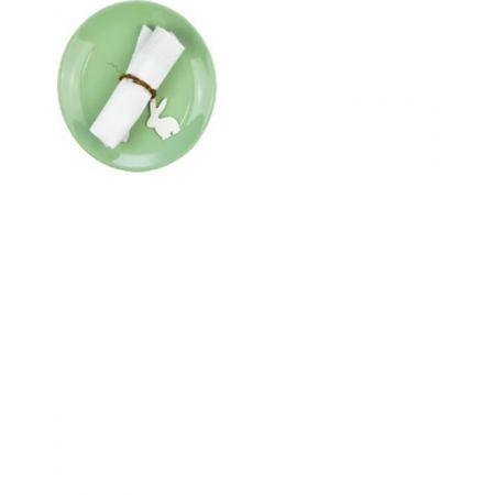 Ozdoba wielkanocna obrączki na serwetki zając WN9304