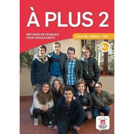 A Plus 2 podręcznik A2.1 + CD LEKTORKLETT