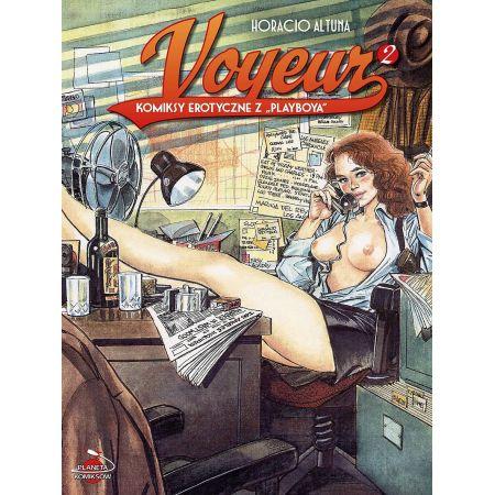 Komiksy erotyczne z Playboya. Voyeur. Tom 2