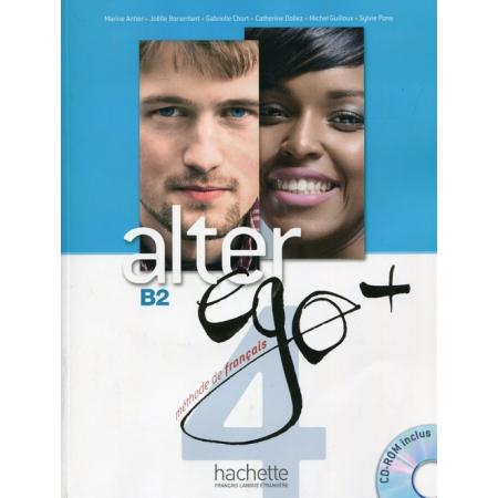 Alter Ego+ 4 podręcznik+CD HACHETTE