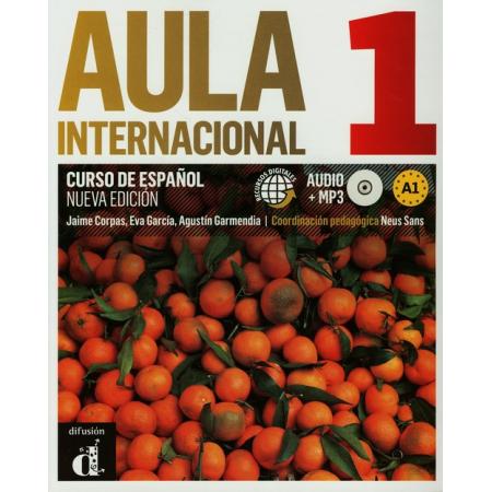 Aula Internacional 1 podręcznik wer. hiszp. + CD