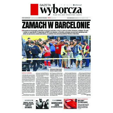 Gazeta Wyborcza - Poznań 191/2017