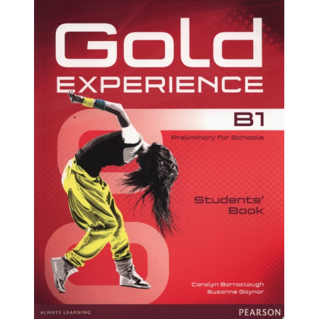 Gold Experience B1 Student's Book + DVD