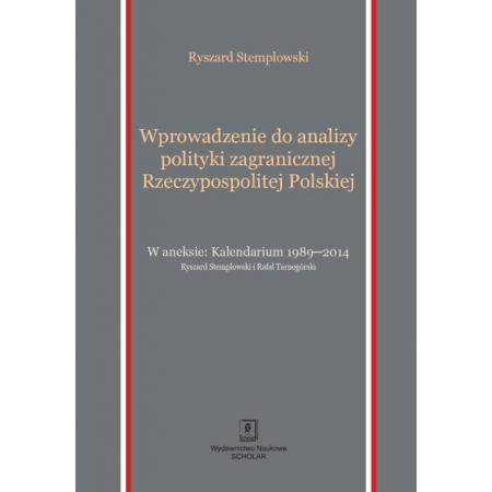 Wprowadzenie do analizy polityki zagranicznej Rzeczypospolitej Polskiej