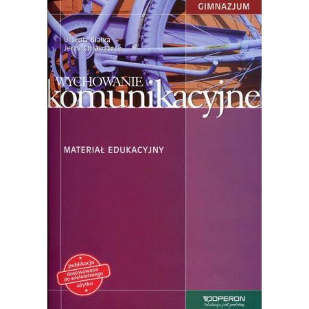 Wychowanie komunikacyjne GIM Materiał edukacyjny