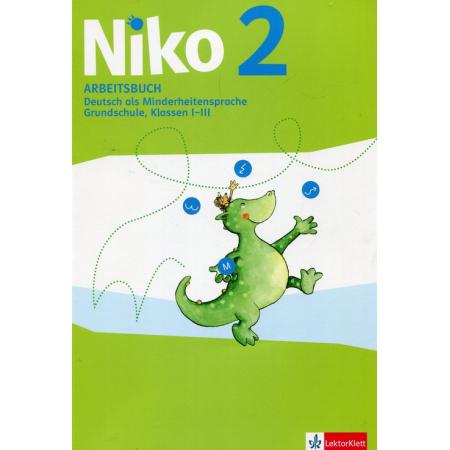 Niko 2. Arbeitsbuch. Ćwiczenia do języka niemieckiego dla klas 1-3 szkoły podstawowej