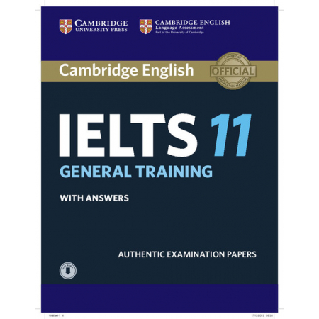 Cambridge IELTS 11 General Training Student's Book with answers with Audio