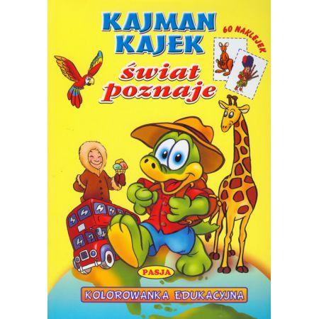 Kajman Kajtek świat poznaje