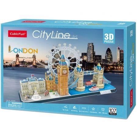 Puzzle 3D. City Line. London