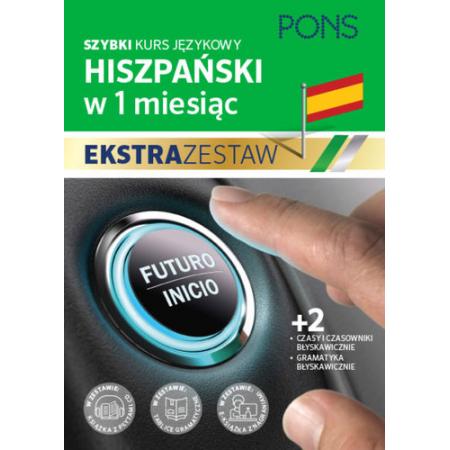 W 1 miesiąc - Hiszpański Ekstrazestaw PONS