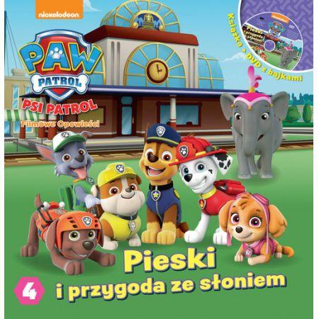 Psi Patrol 4 Pieski i przygoda ze słoniami