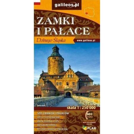 Zamki i Pałace Dolnego Śląska. Mapa turystyczna. 1: 250 000