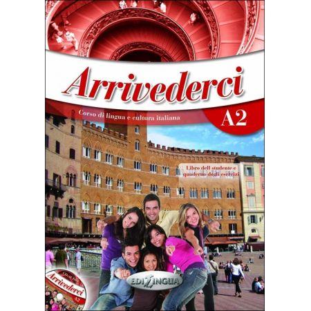 Arrivederci! 2 podręcznik + ćwiczenia + CD audio