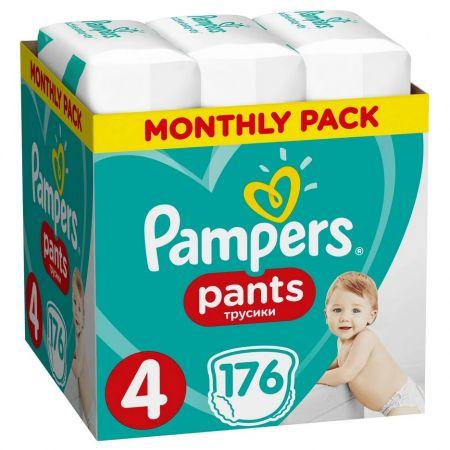 Pieluchomajtki Maxi Pants 4 (9-15 kg) Monthly Box