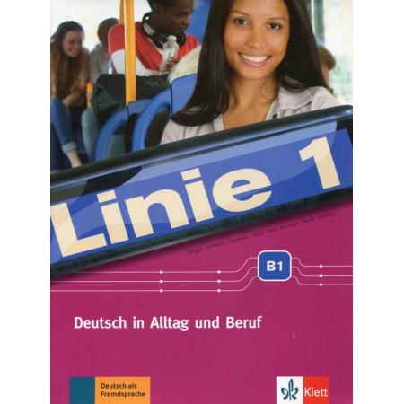 Linie 1 B1 pod. z ćwiczeniami + DVD LEKTORKLETT