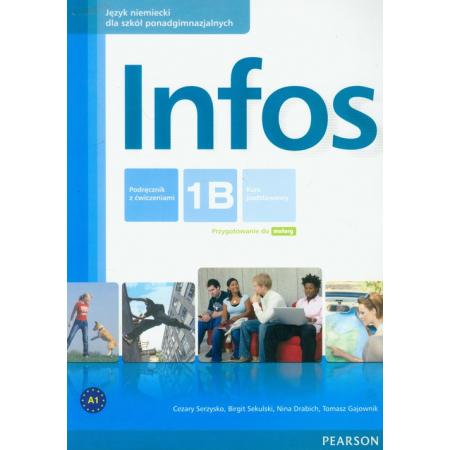 Infos 1B podręcznik z ćwiczeniami+CD PEARSON