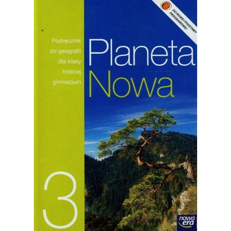 Geografia GIM KL 3. Podręcznik. Planeta nowa
