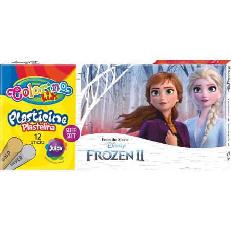Plastelina Colorino Kids 12 kolorów Frozen