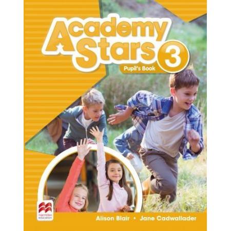 Academy Stars 3 PB + kod online MACMILLAN