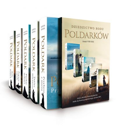 Pakiet Poldark. Tomy 8-12