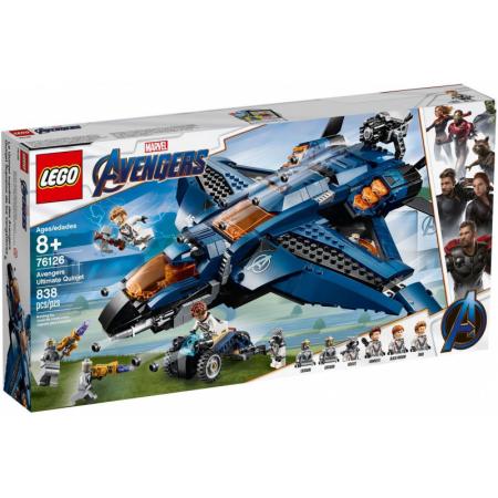 Wspaniały Quinjet Avengersów 76126