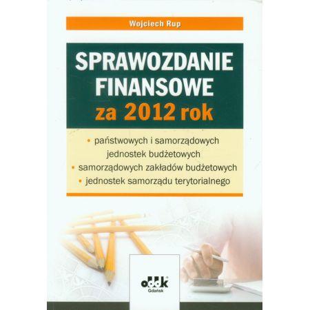 Sprawozdanie finansowe za 2012 rok