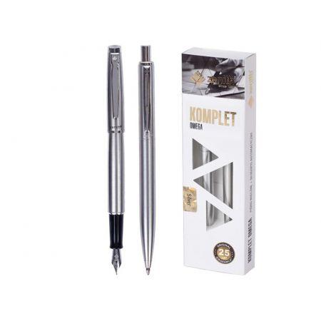Komplet Silver w etui pióro + długopis