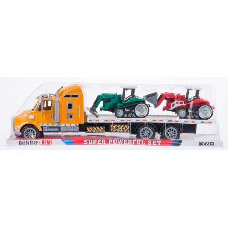 Auto ciężarowe laweta  z akcesoriami MEGA CREATIVE 459331