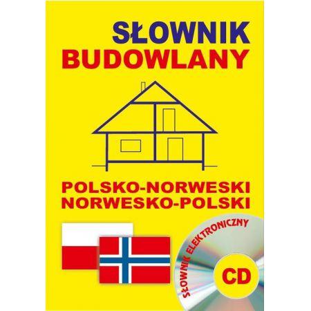 Słownik budowlany pol-norw norw-pol + CD