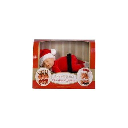 Lalka Śpiący Mikołaj mała