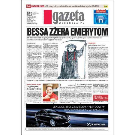 Gazeta Wyborcza - Płock 249/2008