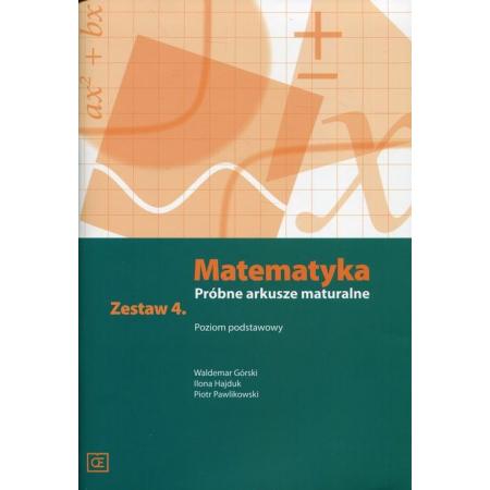 Matematyka LO Próbne arkusze maturalne z.4 ZP