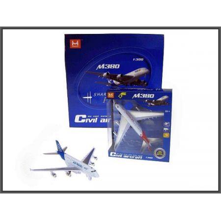 Samolot światło dźwięk 18cm napęd w pud. p10  HIPO Cena za sztukę