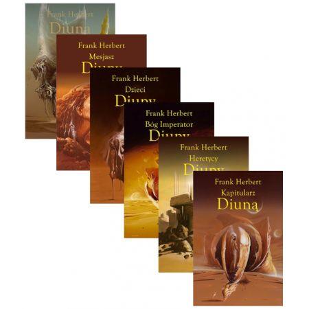 Pakiet: Kroniki Diuny. Tomy 1-6