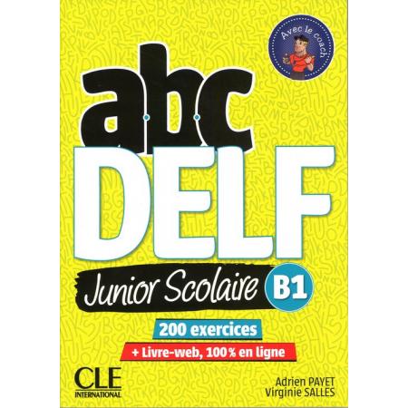 ABC DELF B1 junior scolaire książka + DVD + zawartość online