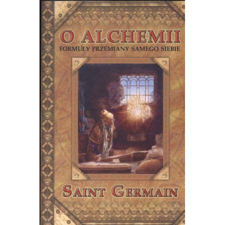 e34523318 O Alchemii. Formuły przemiany samego siebie (Germain Saint) książka ...
