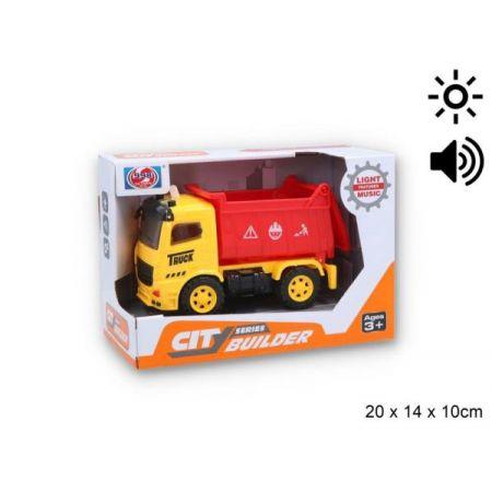 Auto śmieciarka z światłem i dźwiękiem G122573