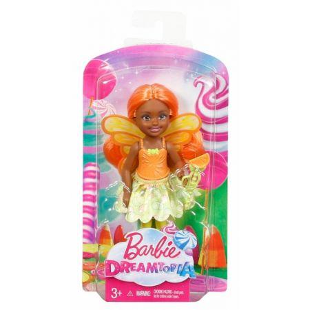 Barbie Dreamtopia. Chelsea wróżka Cytrusowa