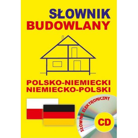 Słownik budowlany pol-niem niem-pol + CD