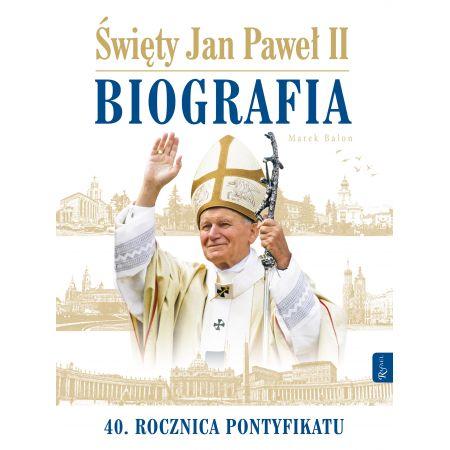 św Jan Paweł Ii Biografia Marek Balon Książka W Księgarni