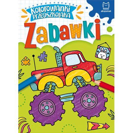 Kolorowanki przedszkolaka. Zabawki