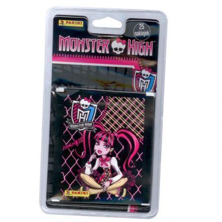Blister z naklejkami Monster High