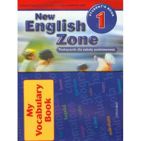 English Zone 1.Students Book.Podręcznik do nauki języka angielskiego dla szkoły podstawowej klasy 4
