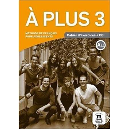 A Plus 3 ćwiczenia A2.2 + CD LEKTORKLETT